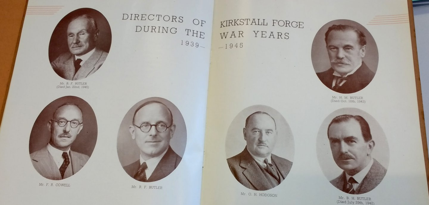 Directors of Kirkstall Forge During the War Years