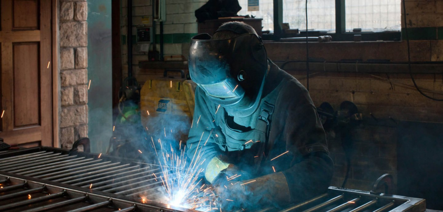 Welding at Kirkstall Forge