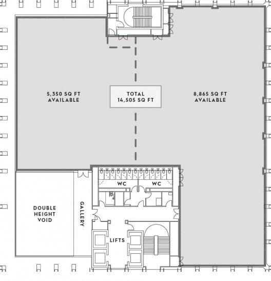 Number One Kirkstall Forge First Floor Plan