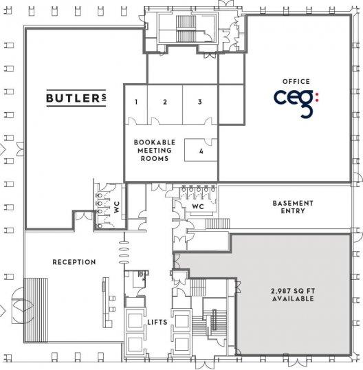 Number One Kirkstall Forge Ground Floor Plan