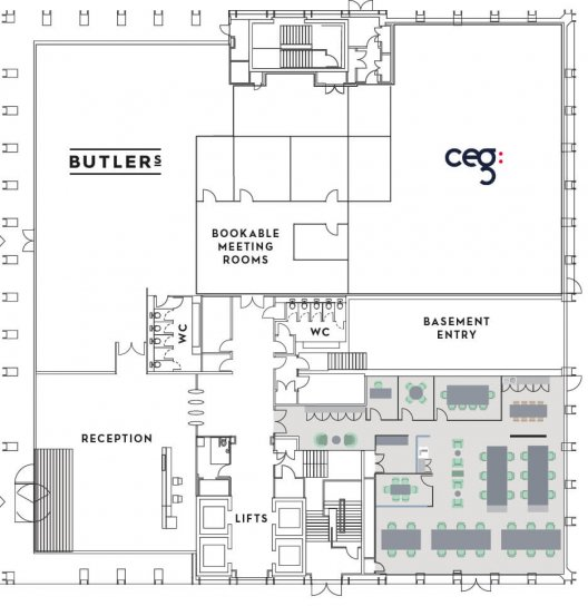 Number One Kirkstall Forge Ground Floor Space Plan