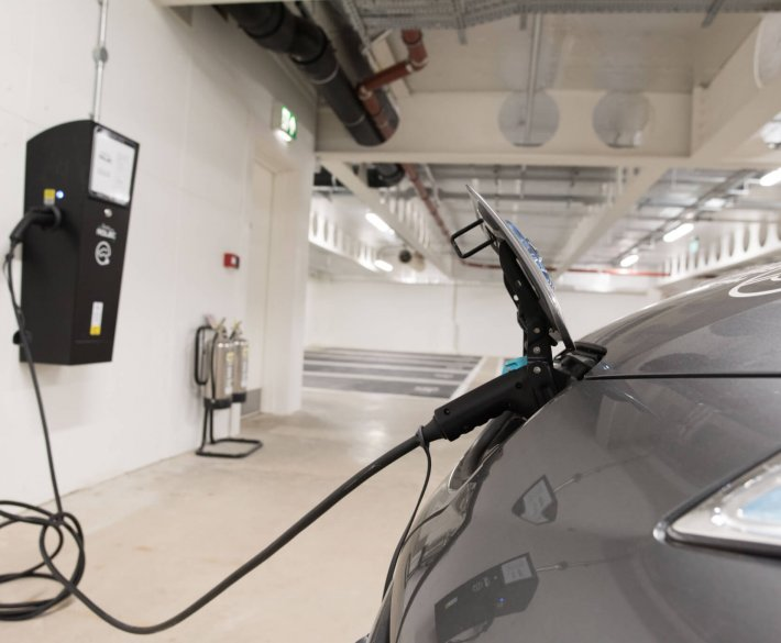 electric car charging kirkstall forge Leeds