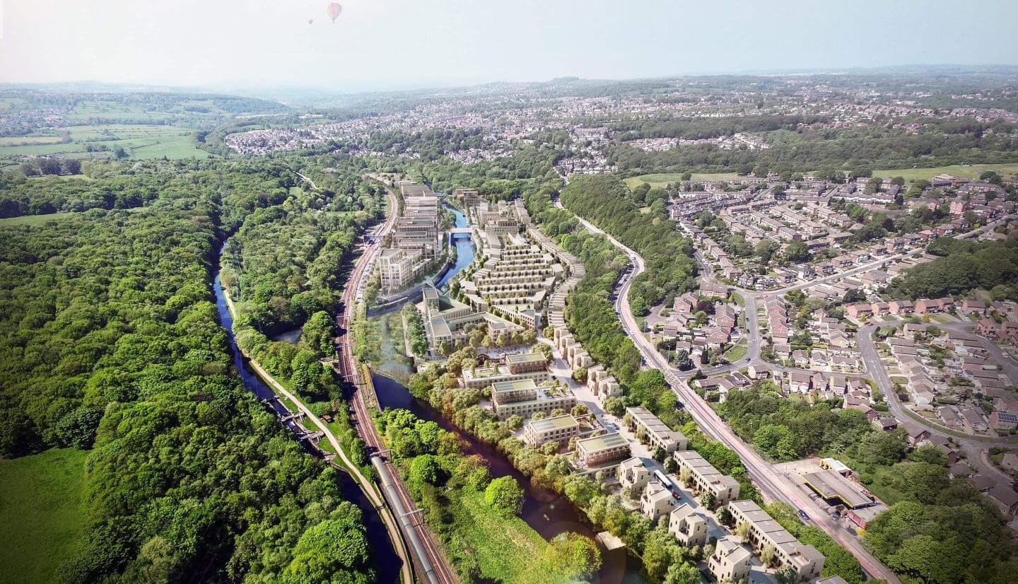 Masterplan of Kirkstall Forge