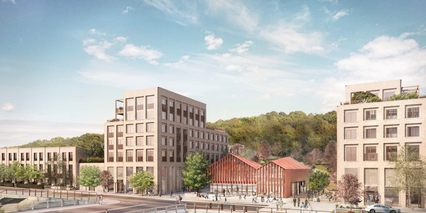 Kirkstall Forge development CGI