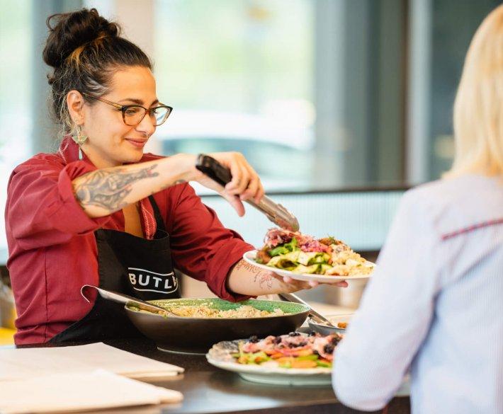 Butlers Salad Bar