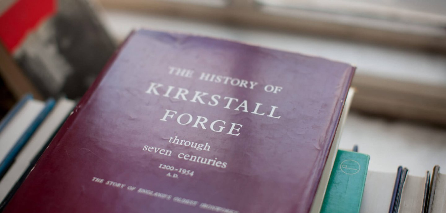 Book of the history of Kirkstall Forge