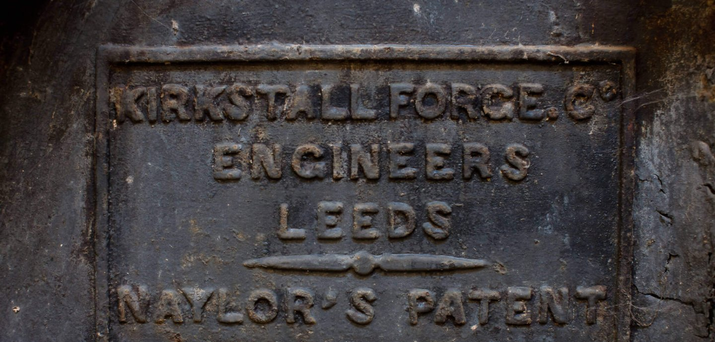 Plaque from Kirkstall Forge