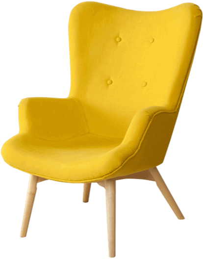 Yellow Chair Icon